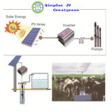 Sistema de irrigación solar del uso de la agricultura