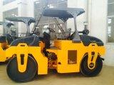 YZC6 rodillo de camino del tambor del doble del compresor vibratorio de 6 toneladas