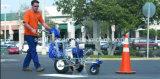 Machine de pulvérisation privée d'air de peinture de marquage routier de poussée de main