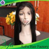 Parrucca piena brasiliana superiore del merletto dei capelli umani