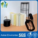 Gabbia del sacchetto filtro di buona qualità con il dispositivo Venturi per il collettore di polveri dell'aria