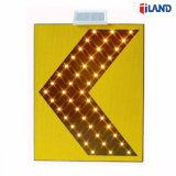 태양 강화된 옥외 방수 알루미늄 물자 LED 도로 소통량 경고 표시