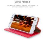 La couverture mobile en gros de la Chine conçoivent la caisse en cuir de luxe d'unité centrale pour le cas de téléphone portable de Samsung J2/J5j6/J7