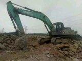 Máquina escavadora usada Kobelco Sk350 da esteira rolante da construção da condição de trabalho máquina escavadora muito boa (feito em 2011)