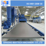 Stahlplatten-bewegliche Granaliengebläse-Maschine