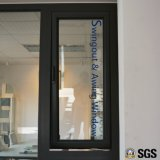 Thermischer Bruch-Aluminiumprofil nach aussen geöffnet und gehangenes Spitzenfenster, Aluminiumfenster, Fenster K05014