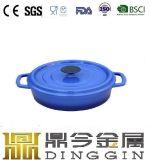 エナメルの鋳鉄の在庫の鍋