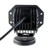 Lâmpada LED 4D 12W Luz de Trabalho de LED para carro