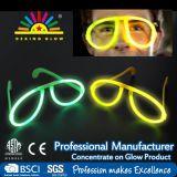 Multi Farben-Glühen haftet Schädel geformte Glas-helle Partei