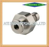 Machinaal bewerkte CNC van de Hoge Precisie van het Deel van het Aluminium van de Douane van het Product Draaibank