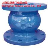 Tipo silencioso válvula de verificação vertical da água de esgoto