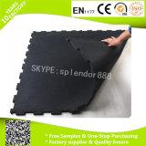 Esteras de goma del suelo del amortiguador de choque para el centro de aptitud