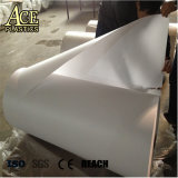 High Gloss rigid PVC Sheet White for Lampshade Cover material