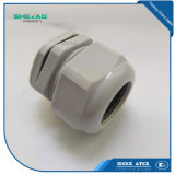 1 pulgadas de prensaestopas de nylon negro de 18 - 25mm cable