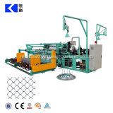 Selbstkettenlink-Zaun-Maschendraht-Diamant-Wirbelsturm, der Maschine herstellt