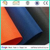 De hete Stof van de Polyester van Oxford Panama van de Verkoop Textiel600d PU/PVC Met een laag bedekte voor Koffer