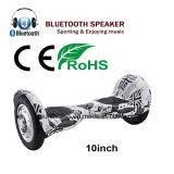 10inch Hoverboard con el diente y los altavoces azules