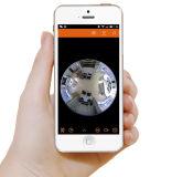 Wireless Wi-Fi 3.0 MP Fisheye Panoramic IP Camera para suporte para segurança doméstica Gravação de cartões de telefone inteligente e TF
