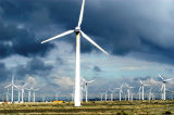 50kw Pali d'acciaio del generatore di vento galvanizzato