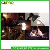 Best Selling 5W Inteligent LED Recarregável iluminação com lâmpadas de emergência