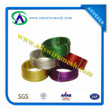 Arame revestido de PVC (1.5/1.0---5.5/5.0mm)