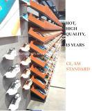 Supermarkt-oder Einzelhandelsgeschäft-Metallgondel-Regal für Schuhe, Kleidung und Hose für Nike