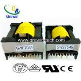 照明のための高圧分布の変圧器