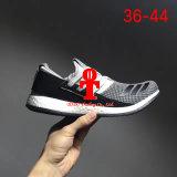 Addas alza los zapatos corrientes respirables de las palomitas de los zapatos ocasionales