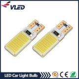 T10 옥수수 속 6W W5w Canbus LED 차 자동 빛 LED 번호판 램프