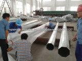 Anlieferung auf Philippinen Nea galvanisierter Stahlpole
