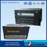 Rack 6U 220VCA/48VCC 200d'un système de redresseur