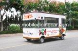 Carro eléctrico del alimento de la delicadeza atractiva de la barbacoa para la venta