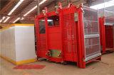 Lifter товаров и пассажиров конструкции для сбывания Hstowercrane