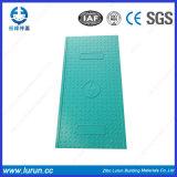 SGS quadrato En124 del coperchio di botola di vetro di fibra