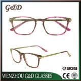 Acetato de moda óculos de estoque por grosso de óculos vidros ópticos Frame