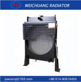 A4105zd-4: El pequeño radiador de aluminio recto determinado del motor diesel