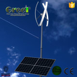 Sistema solar híbrido das energias eólicas do laço da grade para o uso Home