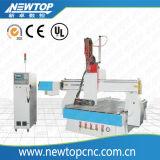 カスタマイズされた4つの軸線CNCのルーター機械(w1325)