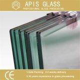 vidrio endurecido flotador claro de 3/3.2/4/5/6/8/10/12m m /Tempered con el certificado del Ce SGCC