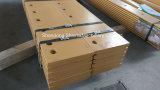 La benna resistente all'uso delle parti parte il filo di lama del caricatore della rotella