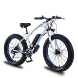 Bateria de lítio Powered gordura bicicleta eléctrica