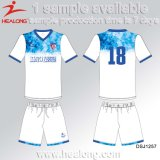 Venda a quente Healong Desgaste desportivos de futebol masculino Camisolas Personalizadas para o Team Club