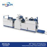 Fabricación de cajas del papel del laminador de la película de la calefacción de Msfy-520b