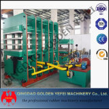 Vorlagenglas-hydraulische Presse-Gummirahmen-Vulkanisator-Maschine