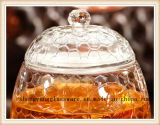Recipiente de vidro do armazenamento de vidro quente do suco de fruta da cubeta da bebida do Sell usado para a cozinha e o restaurante