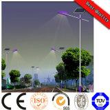 Diseño de 5 años de aluminio super brillante LED Solar de la luz de la calle de la autopista
