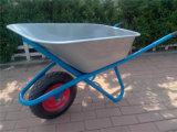 Wheelbarrow chapeado zinco de Wb6425g para o mercado de Rússia