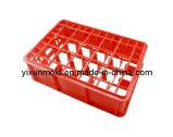 プラスチック赤ワインのガラスバスケット型
