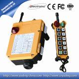 Regulador industrial del telecontrol de la grúa de arriba de los canales de la alta calidad 12