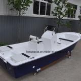 Liya 5.8m Barco de pesca de fibra de vidro novo barco de pesca Barco de Panga com motor de popa